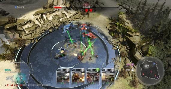 Aký je kartový Blitz mod v Halo Wars 2?