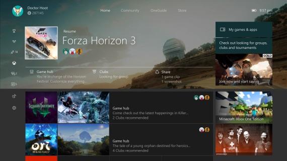 Nový Xbox One update predvedný, pridáva aj spojenie dvoch gamepadov