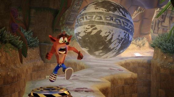 Crash Bandicoot N. Sane Trilogy ukazuje pekné obrázky zamerané na druhý diel