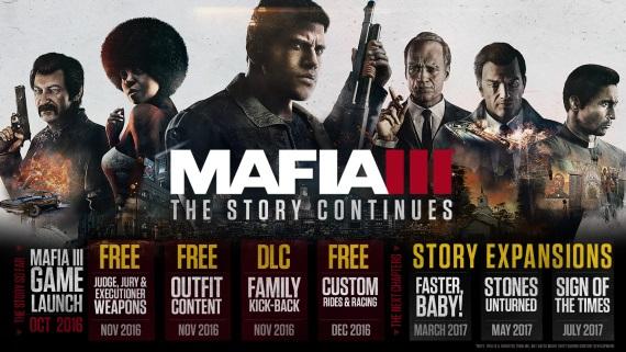 Príbehové DLC pre Mafia III priblížené
