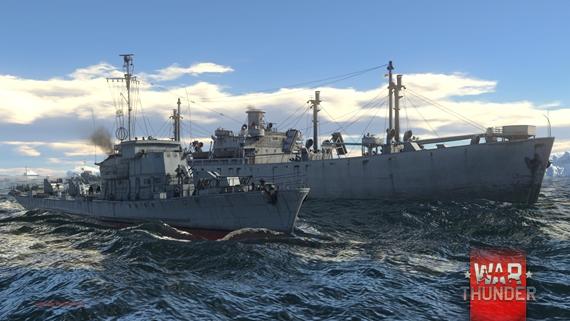 War Thunder pokračuje v testovaní námorných jednotiek