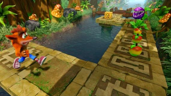 Crash ukazuje gameplay z druhej časti