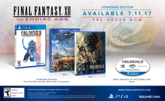 Final Fantasy XII: The Zodiac Age predstavil edície