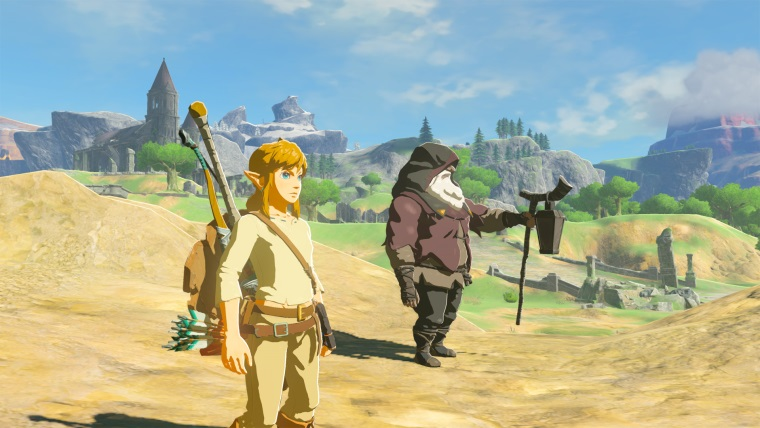 PC obrázky z Legend of Zelda: Breath of the Wild v 4K a porovnanie so Switchom
