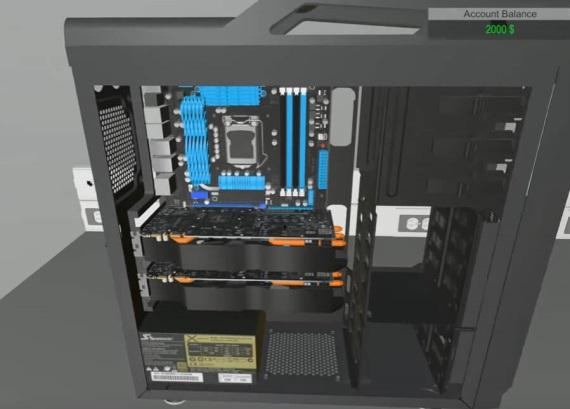 PC Building Simulator vám umožní poskladať svoj vysnívaný počítač bez kompromisov