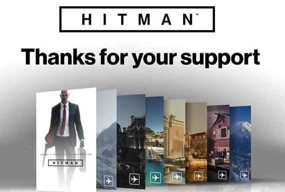 Hitman ukazuje štatistiky ponuky uplynulého roka