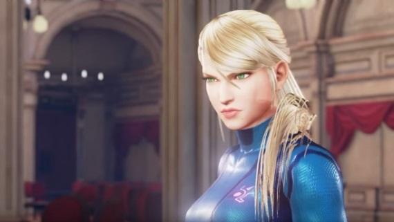 Samus Aran už rozdáva údery aj v Street Fighter V