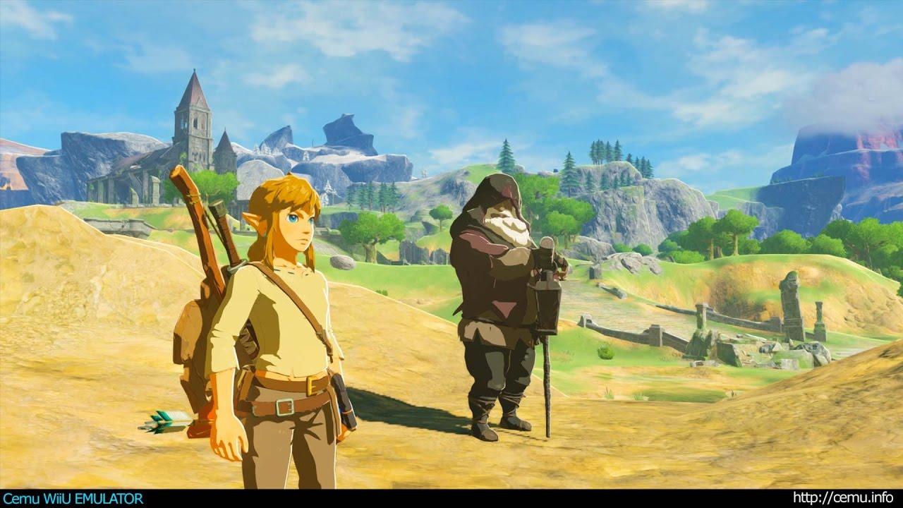 S CEMU 1 7 4 bude Zelda Breath of the Wild znovu lepšie