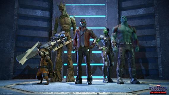 Telltale predstavuje Guardians of Galaxy
