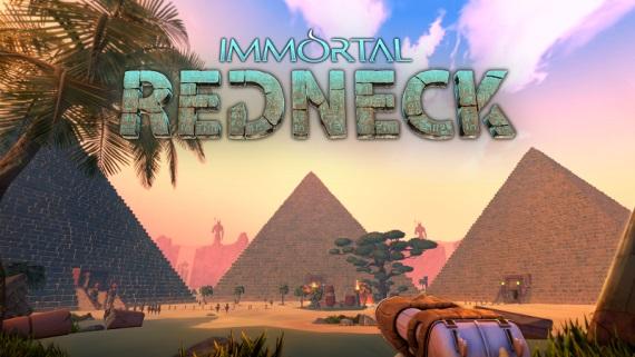 Strieľačka Immortal Redneck vám predvedie svoju nabušenú akciu v starovekom Egypte už 25. apríla