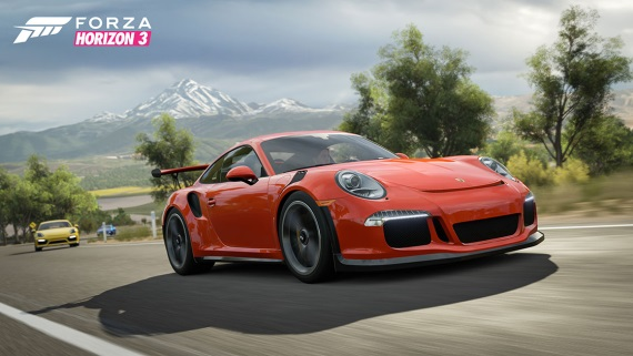 Forza Horizon 3 dnes dostáva Porsche Car Pack