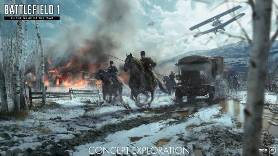 Battlefield 1 predstavuje ďalšiu expanziu In The Name Of The Tsar