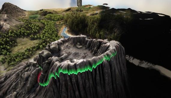 Sopka v Ark: Survival Evolved sa chystá explodovať, mali by ste sa presťahovať