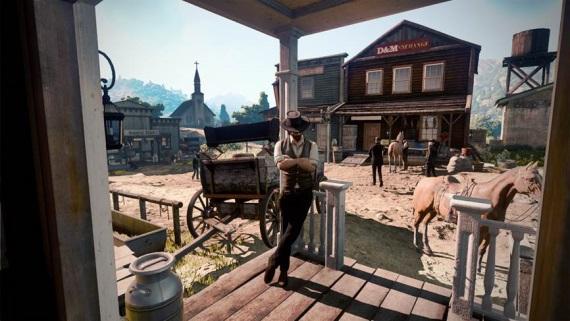 Nový záber z Red Dead Redemption 2?