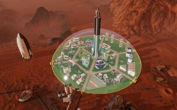 Manažmentová hra Surviving Mars bude kolonizovať červenú planétu