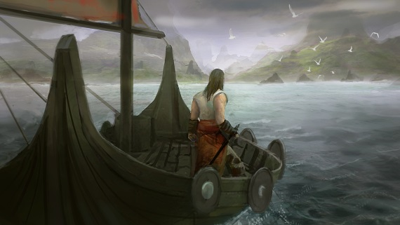 The Wayward Isles pripláva na ostrov za dobrodružstvami