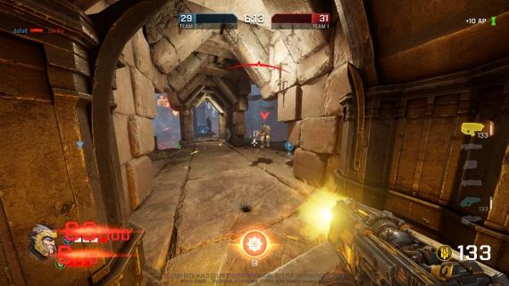 Ukážky z beta testu Quake Champions