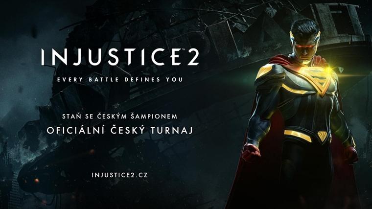 Staň sa šampiónom turnaja Injustice 2, ktorý vyvrcholí v Prahe