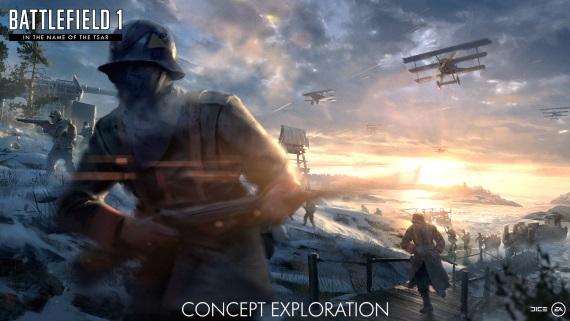Battlefield 1 ukázalo In The Name of Tsar expanziu a aj nočné mapy