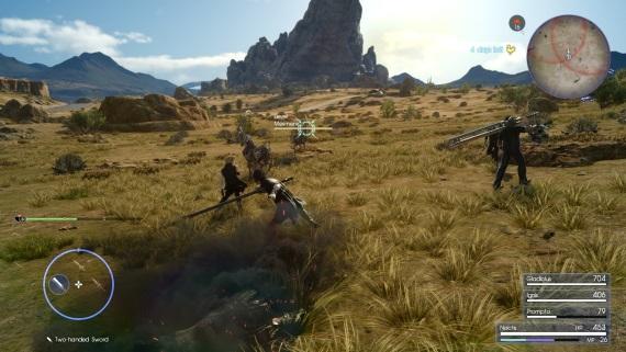Prvé zábery Final Fantasy XV pre Xbox One X