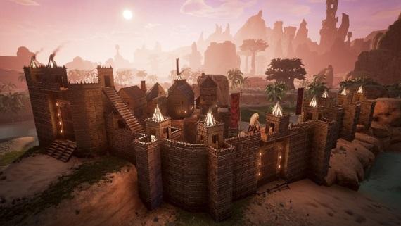 Nový update do Conan Exiles pridáva padacie mosty, výťahy a ďalšie veci pre strategickú obranu