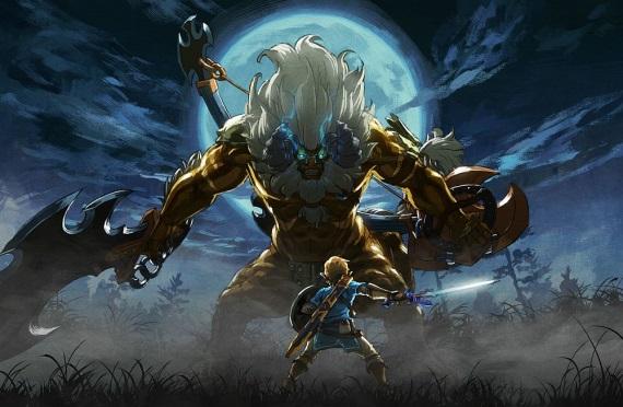 Legend of Zelda: Breath Of The Wild dostala DLC The Master Trials