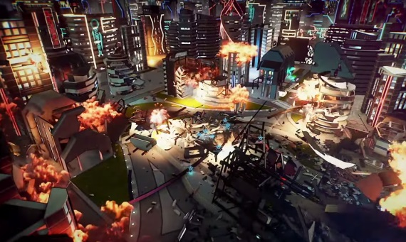 Crackdown 3 ukazuje nový gameplay