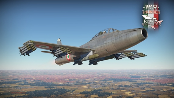 Talianske letecké sily sú dostupné vo War Thunder