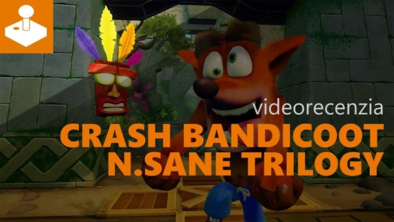 Crash Bandicoot N.Sane Trilogy - videorecenzia