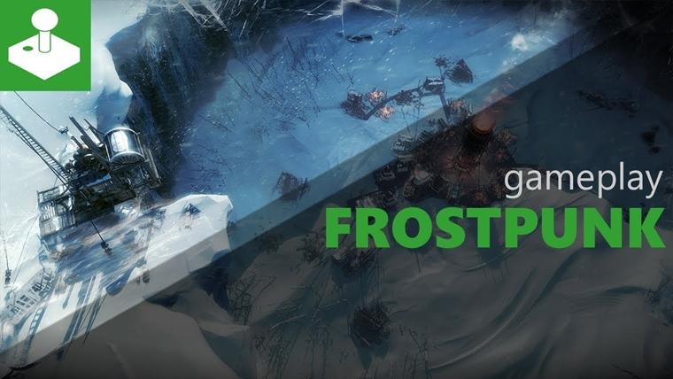 Frostpunk - Gamescom 2017 - gameplay