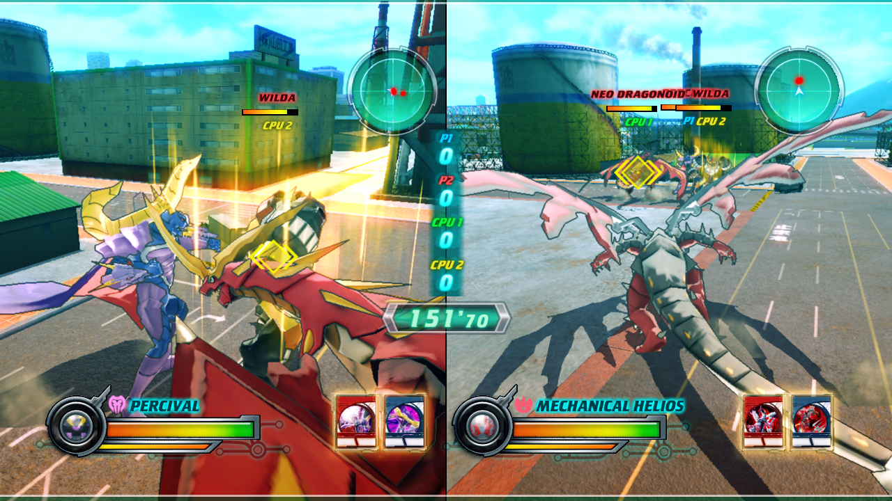 Bakugan: Defenders of the Core Free for All režim trochu spestruje hrateľnosť.