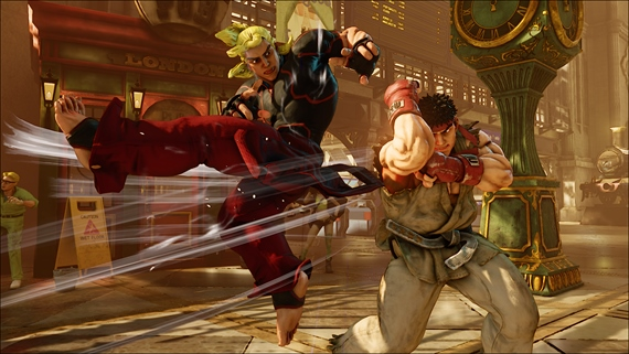 Yoshinori Ono o Street Fighter V