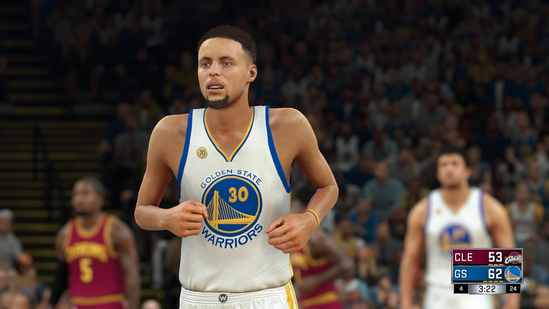 NBA 2K17 ... a Stephen Curry.