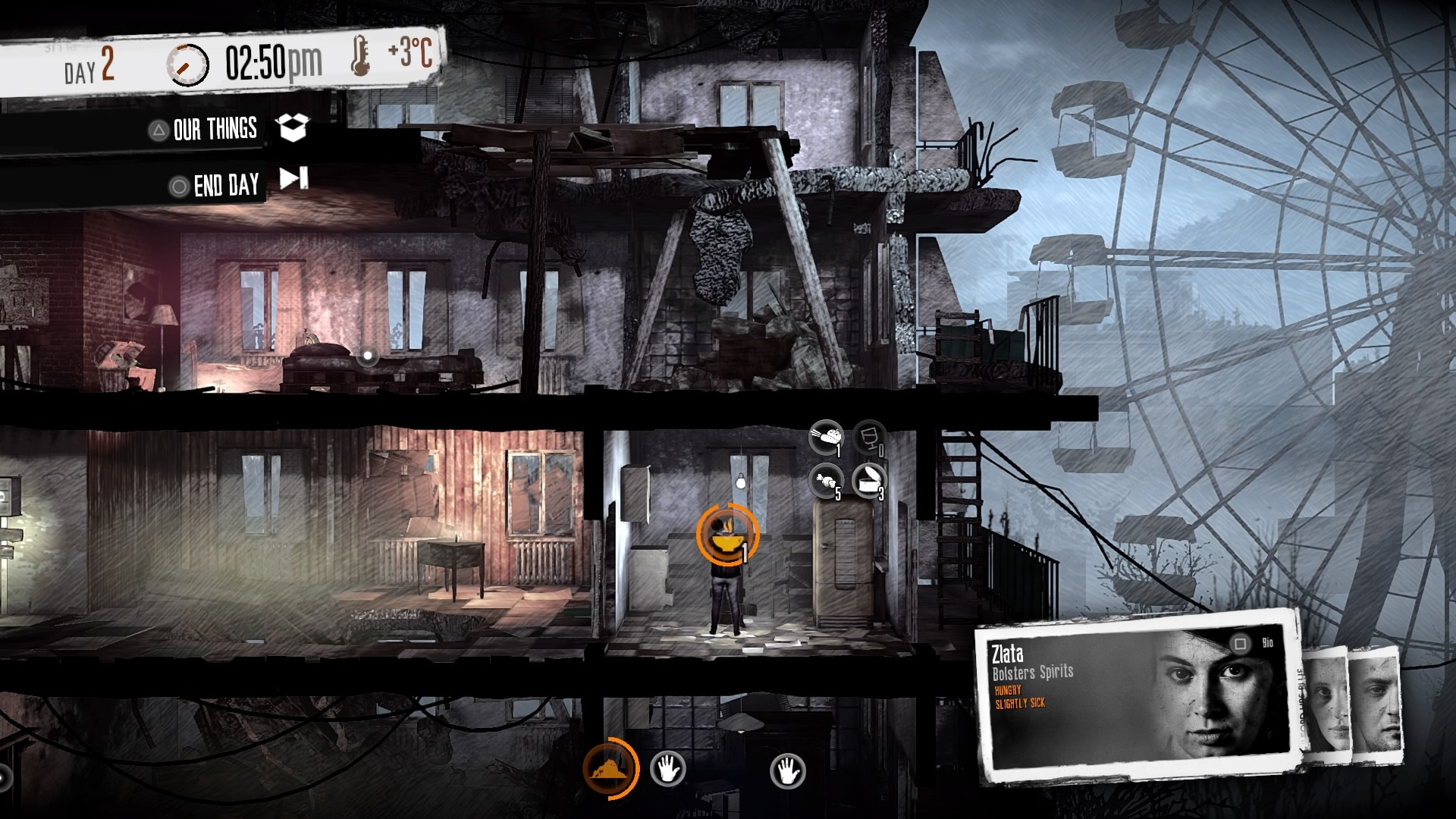 This War of Mine: The Little Ones Varíme. Kým máme z čoho.