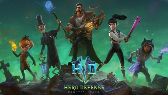 Hero Defense: Haunted Island