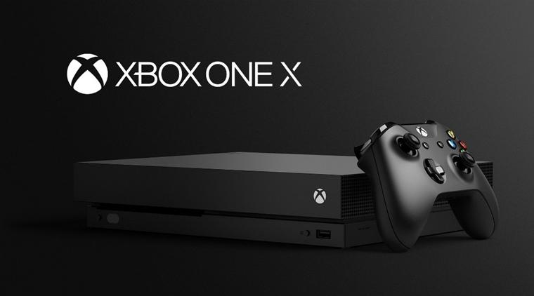 Xbox One X - test