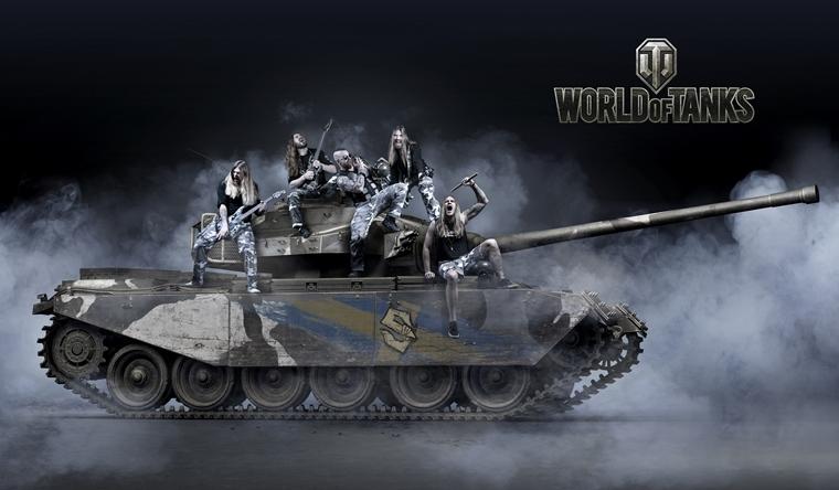 Sabaton a Akira Yamaoka o hudbe pre World of Tanks