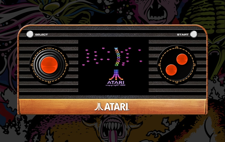 Atari Blaze Handheld