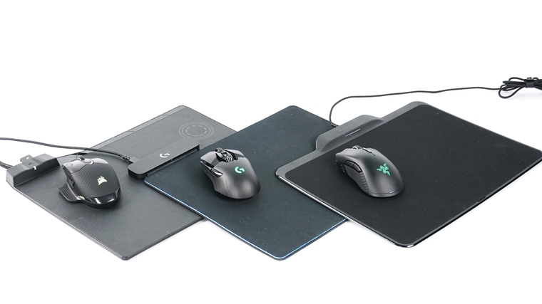 Razer Mamba HyperFlux vs Logitech PowerPlay vs Corsair MM1000Qi & DarkCore
