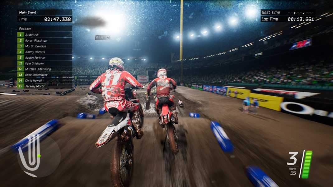 Monster Energy Supercross: The Official Videogame Nápady na to, čo napísať k ďalším zablateným obrázkom nám dochádzajú...