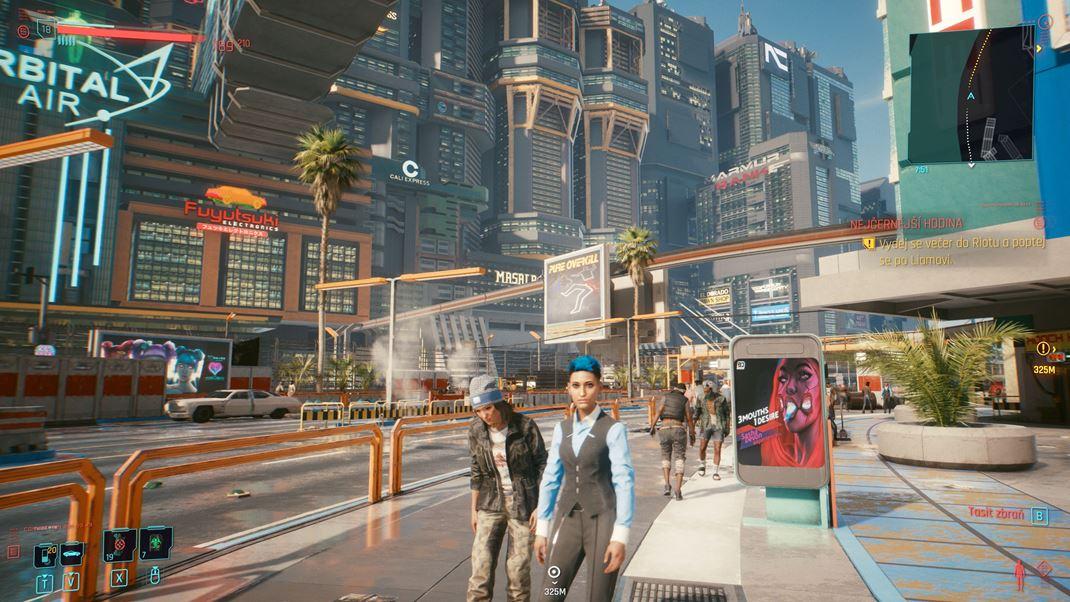 Cyberpunk 2077 Vitajte v Night City.