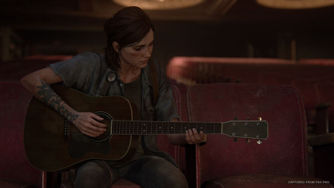The Last of Us: Part II Hra perfektne pracuje s hudbou.